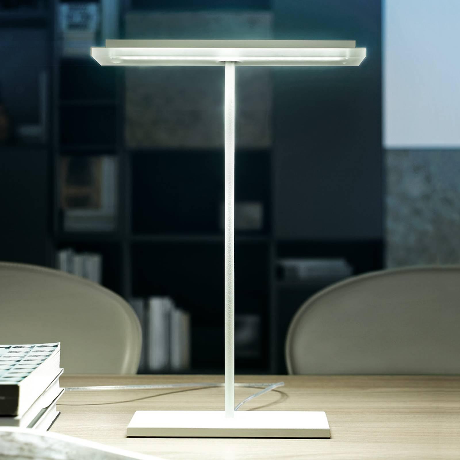Litteä LED-pöytävalaisin Dublight LED