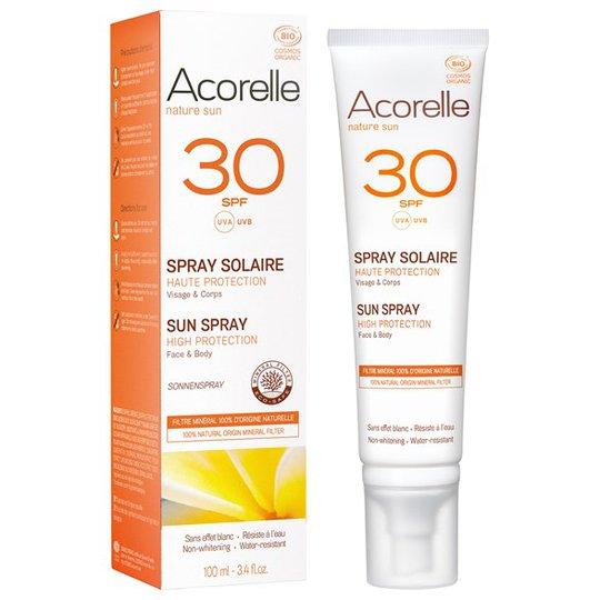 Acorelle Solskyddsspray SPF 30, 100 ml