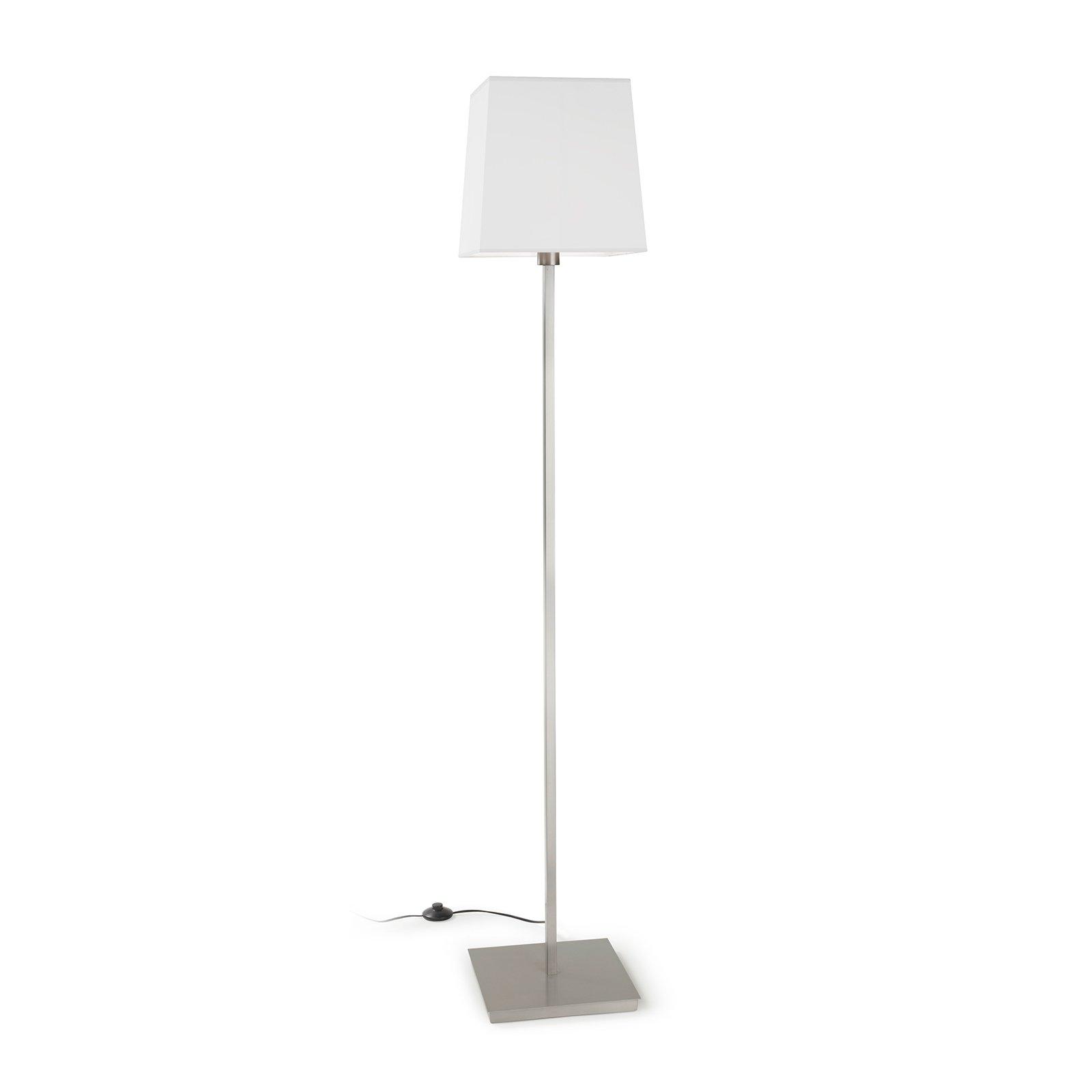 LEDS-C4 Torino gulvlampe skjerm kantet, hvit