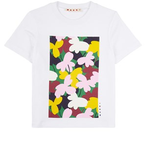 Marni Floral T-shirt Vit 6 år