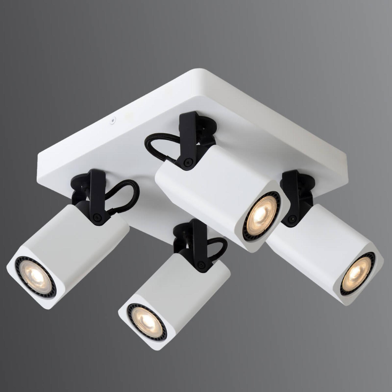 4-lamppuinen LED-kattovalaisin Roax