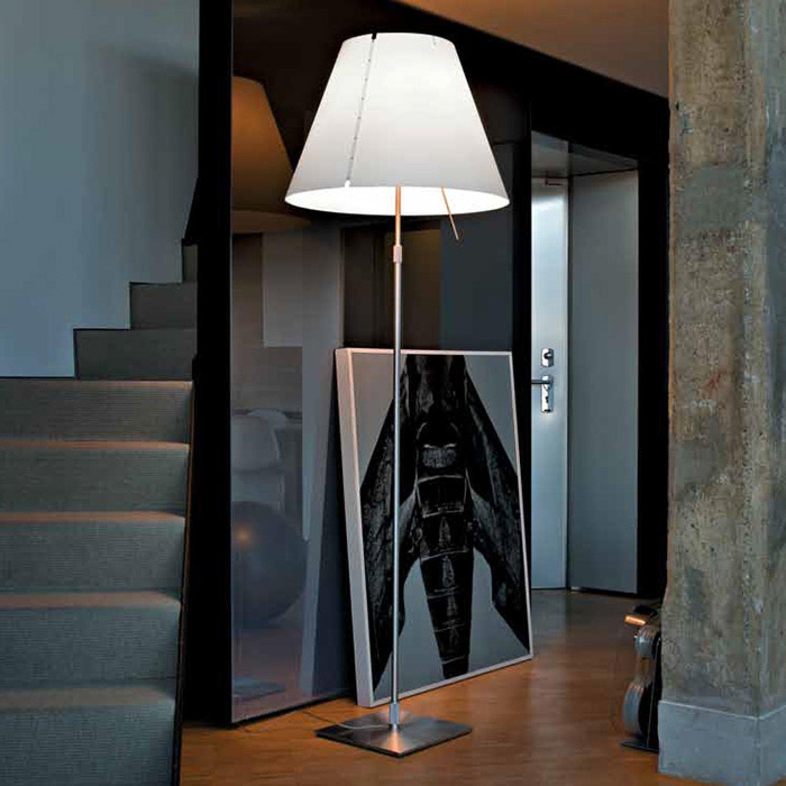 Stor stålampe Grande Costanza