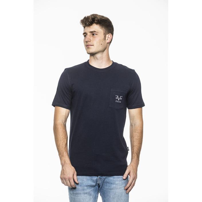 19v69 Italia Men's T-Shirt Blue 185404 - blue XXL