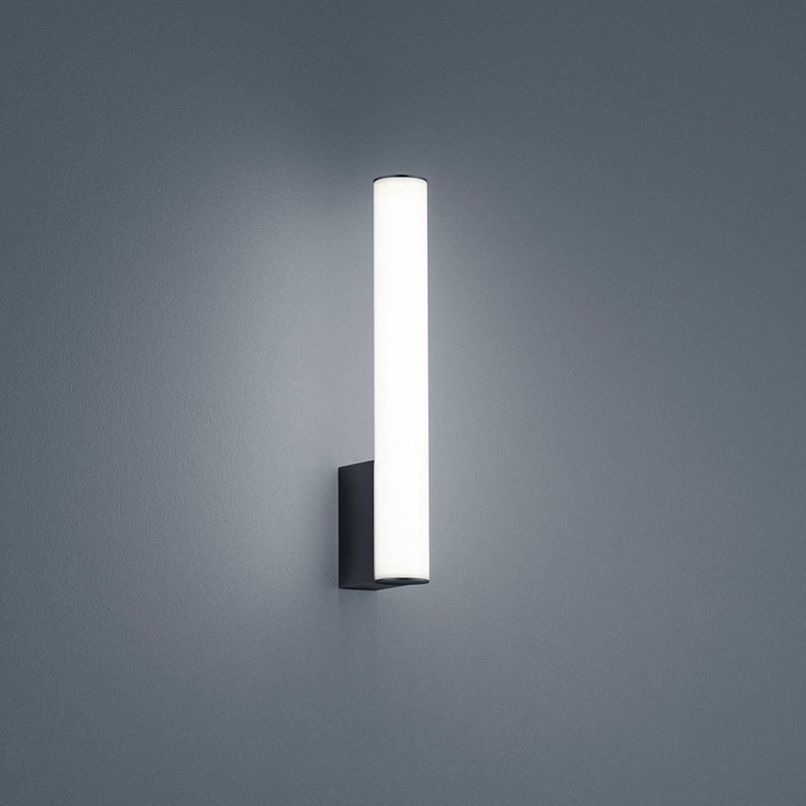 Helestra Loom LED-speillampe, svart, 30 cm