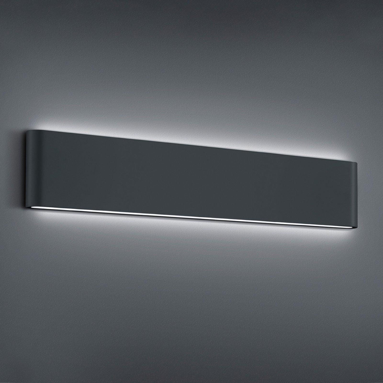 Utendørs LED-vegglampe Thames II, antrasitt