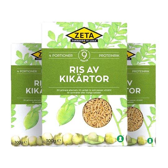 Ris Kikärtor 3-pack - 55% rabatt