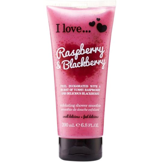 I Love... Raspberry & Blackberry Exfoliating Shower Smoothie, 200 ml I love… Vartalokuorinnat