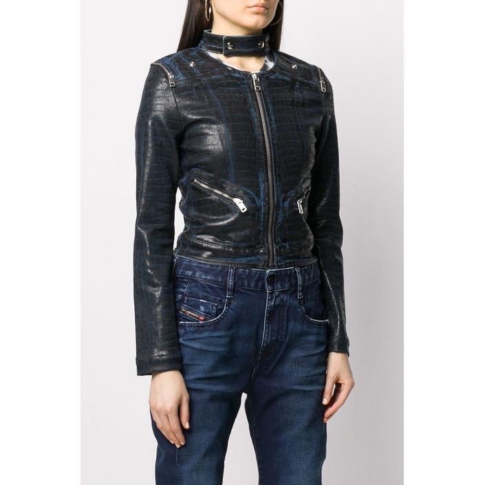Diesel Women's Jacket Black 320350 - black S