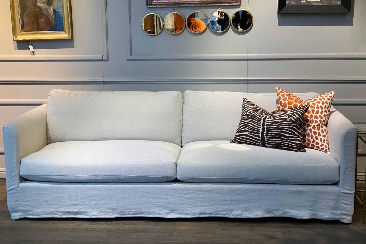 Soffa Boho 3-sits Brera lino 240 cm