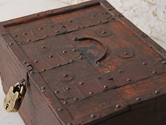 Antique Shekhawati Box Small