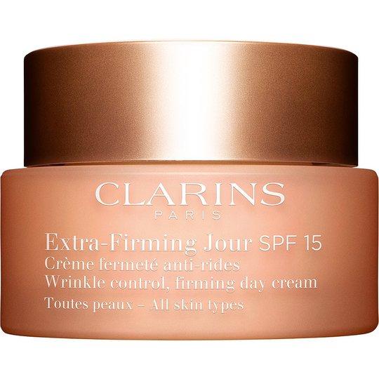 Clarins Extra-Firming Jour SPF15 for All Skin Types, 50 ml Clarins Päivävoiteet