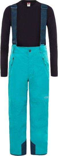 The North Face Snowquest Suspender Plus Bukse Barn, Kokomo Green XL