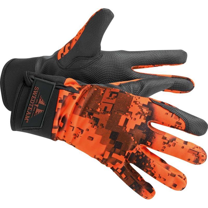 Swedteam Ridge Dry M Gloves 2XL Lett foret hanske i Desolve Fire