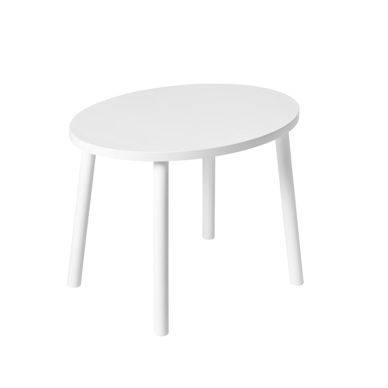 MOUSE TABLE WHITE 2-5 år barnbord, Nofred