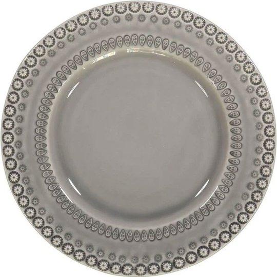 PotteryJo Daisy Middagstallrik 2 st, Soft Grey
