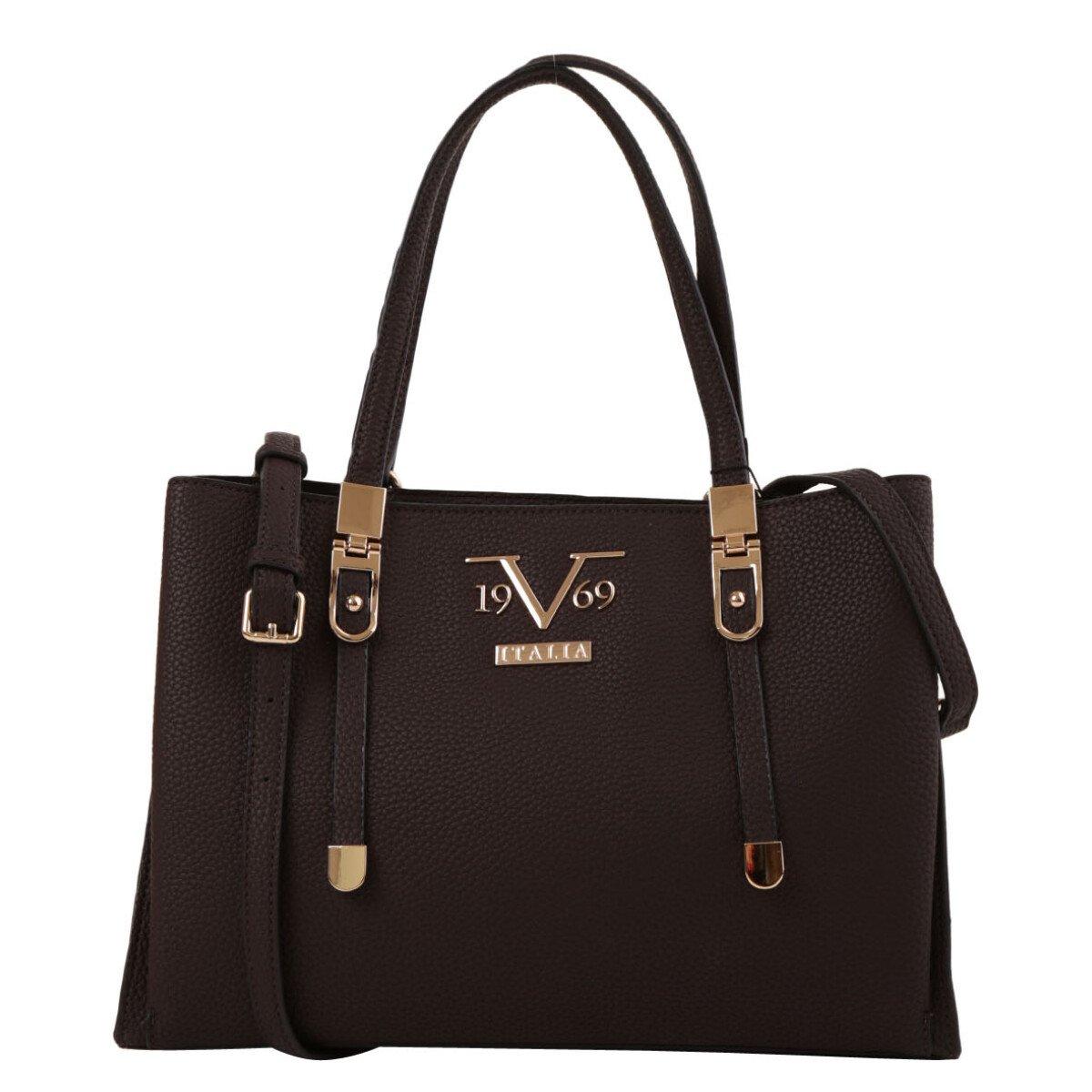 19v69 Italia Women's Handbag Various Colours 318969 - brown UNICA