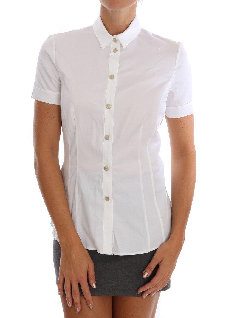 Versace Jeans Women's Shirt White TSH1472 - IT40|S