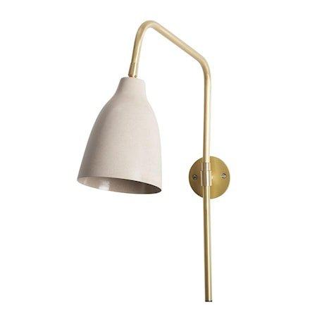 Vegglampe Evie Violett