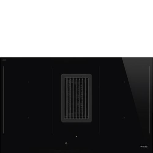Smeg Hobd482d Induktionshäll - Svart/glas