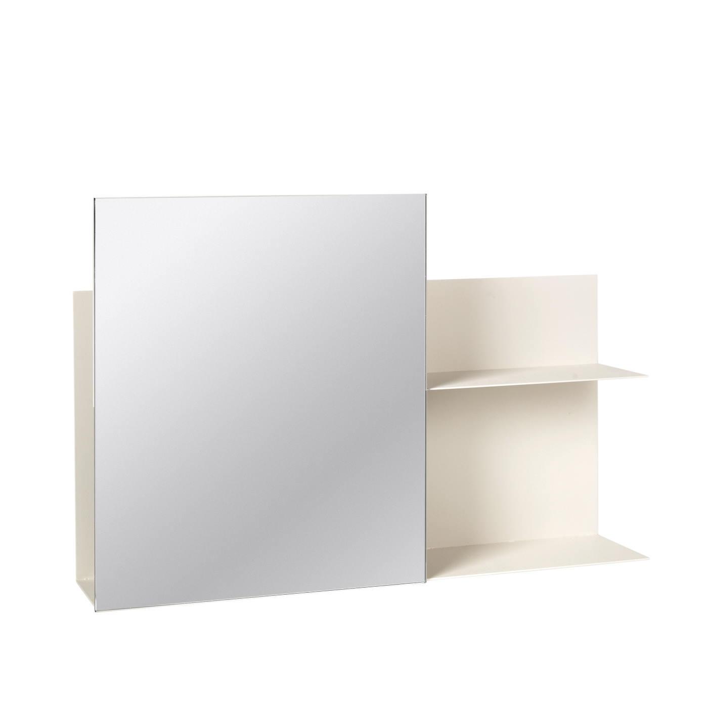 Spegel med förvaring ljusgrå Broste Copenhagen