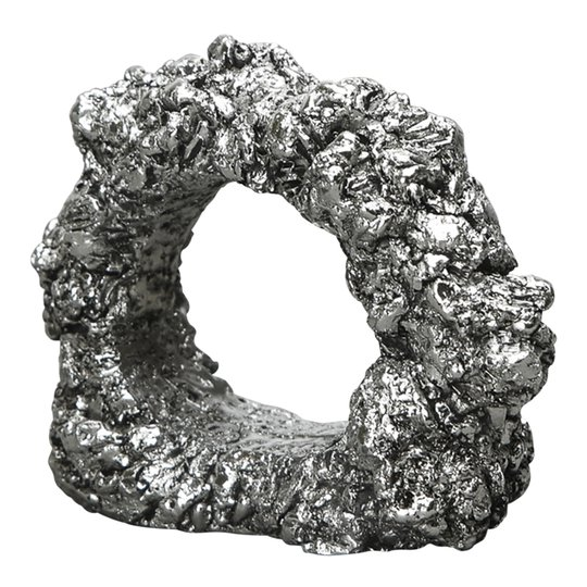 By On - Minerale Servettring 6,5 cm Silver