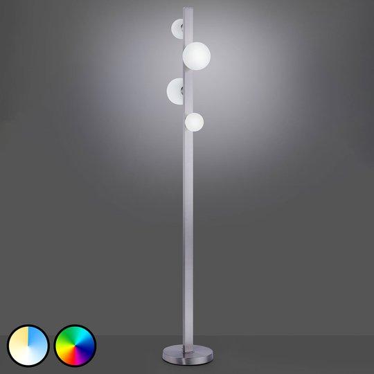 Trio WiZ Dicapo -LED-lattiavalo, 4-lamppuinen