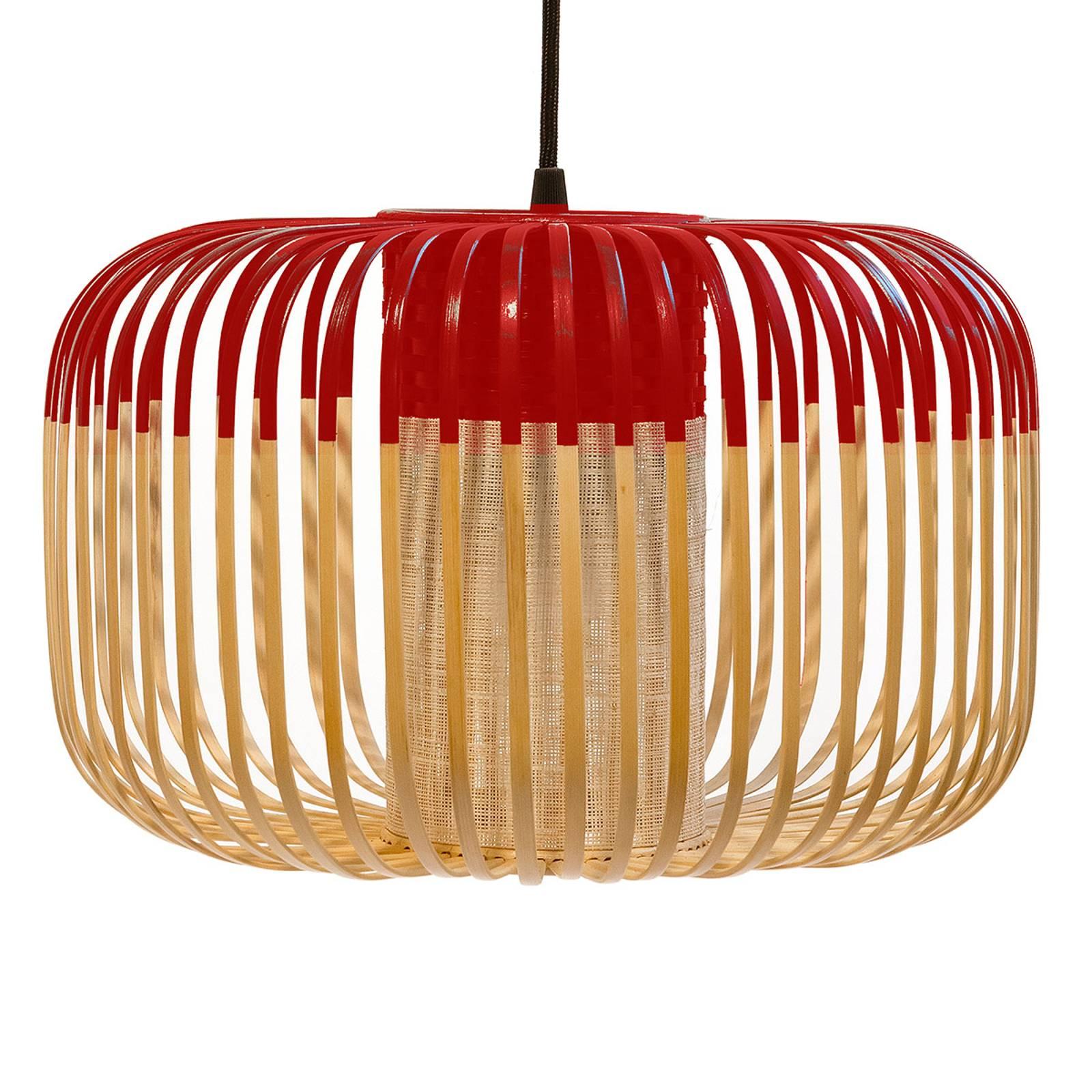 Forestier Bamboo Light S -riippuvalo 35cm punainen