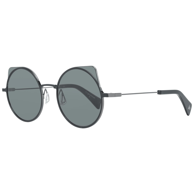 Yohji Yamamoto Men's Sunglasses Black YY7030 52031