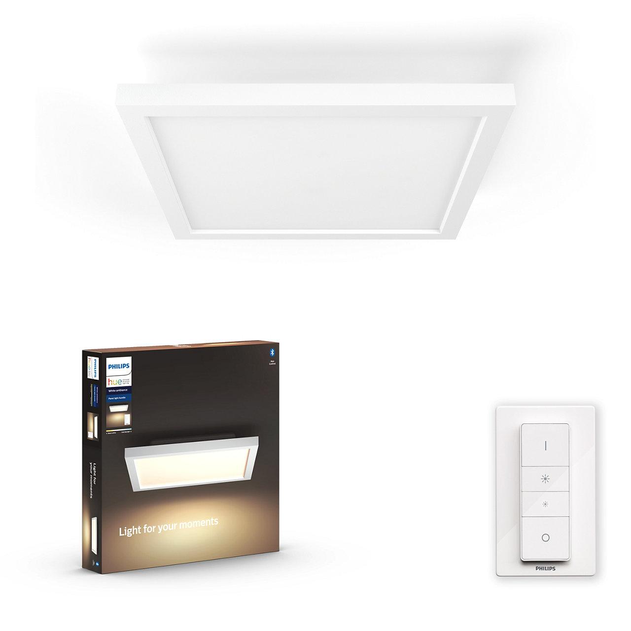 Philips Hue - Aurelle Hue Panel Ceiling Lamp - White Ambiance Bluetooth