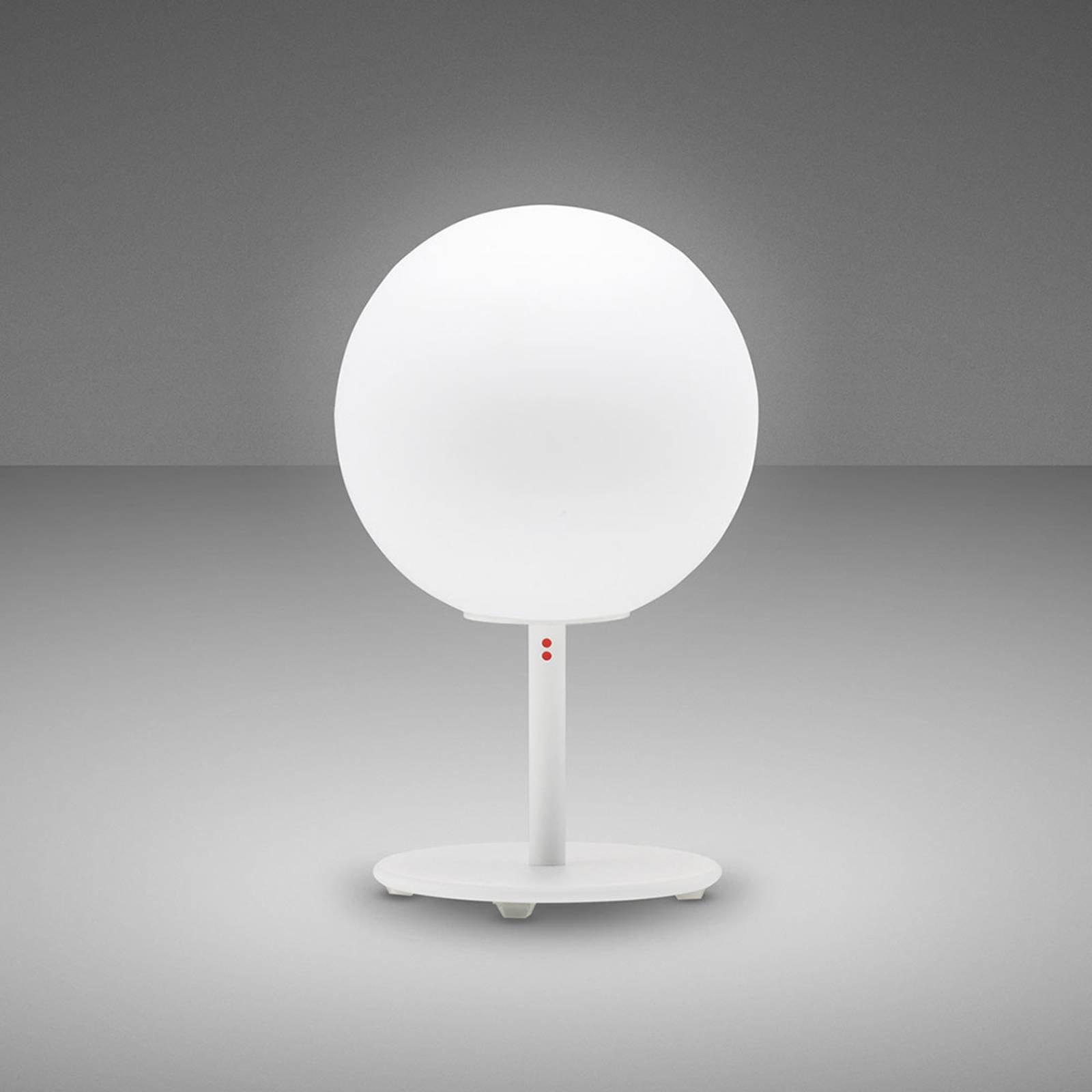 Fabbian Lumi Sfera bordlampe, stående, Ø 14 cm