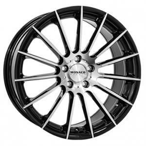 Monaco Formula Gloss Black Polished 8x18 5/120 ET35 B72.6
