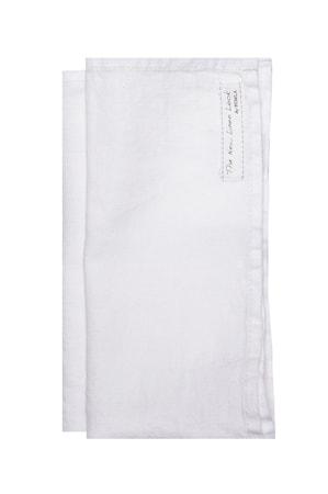 Servett Sunshine white 45x45 4-pack