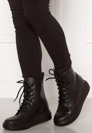 Svea Sneaker Leather Boots 900 Black 40