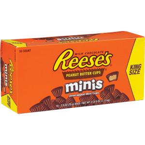 Reeses Kingsize Mini - 16st