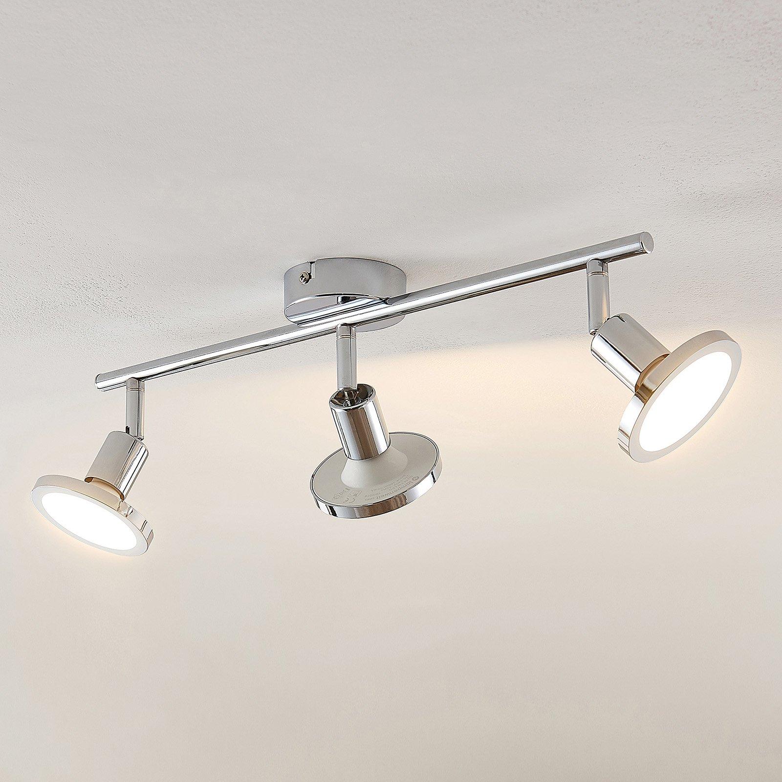 Lindby Ayden LED-takspot, tre lyskilder, lang