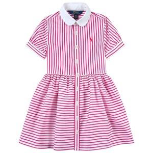 Ralph Lauren Striped Skjortklänning Pink/White 14 år