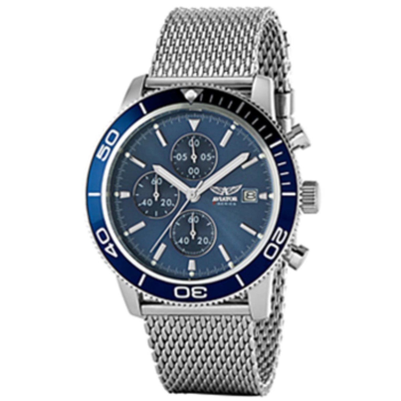 Aviator Men's Watch Silver AVW2070G302