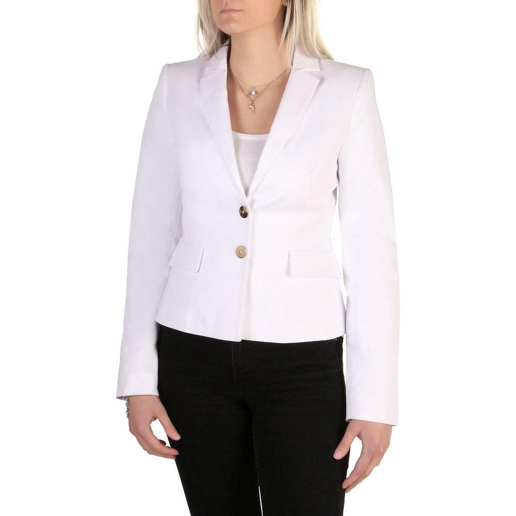 Guess Women's Blazer White 72G204 - white 40 US