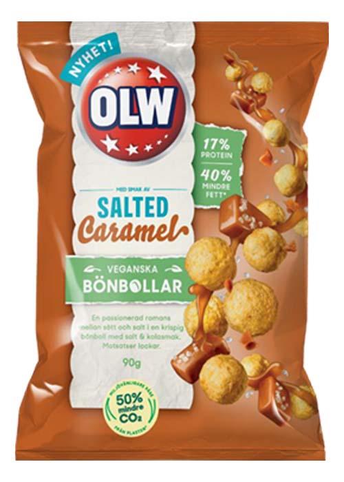 OLW Bönbollar Salted Caramel 90g