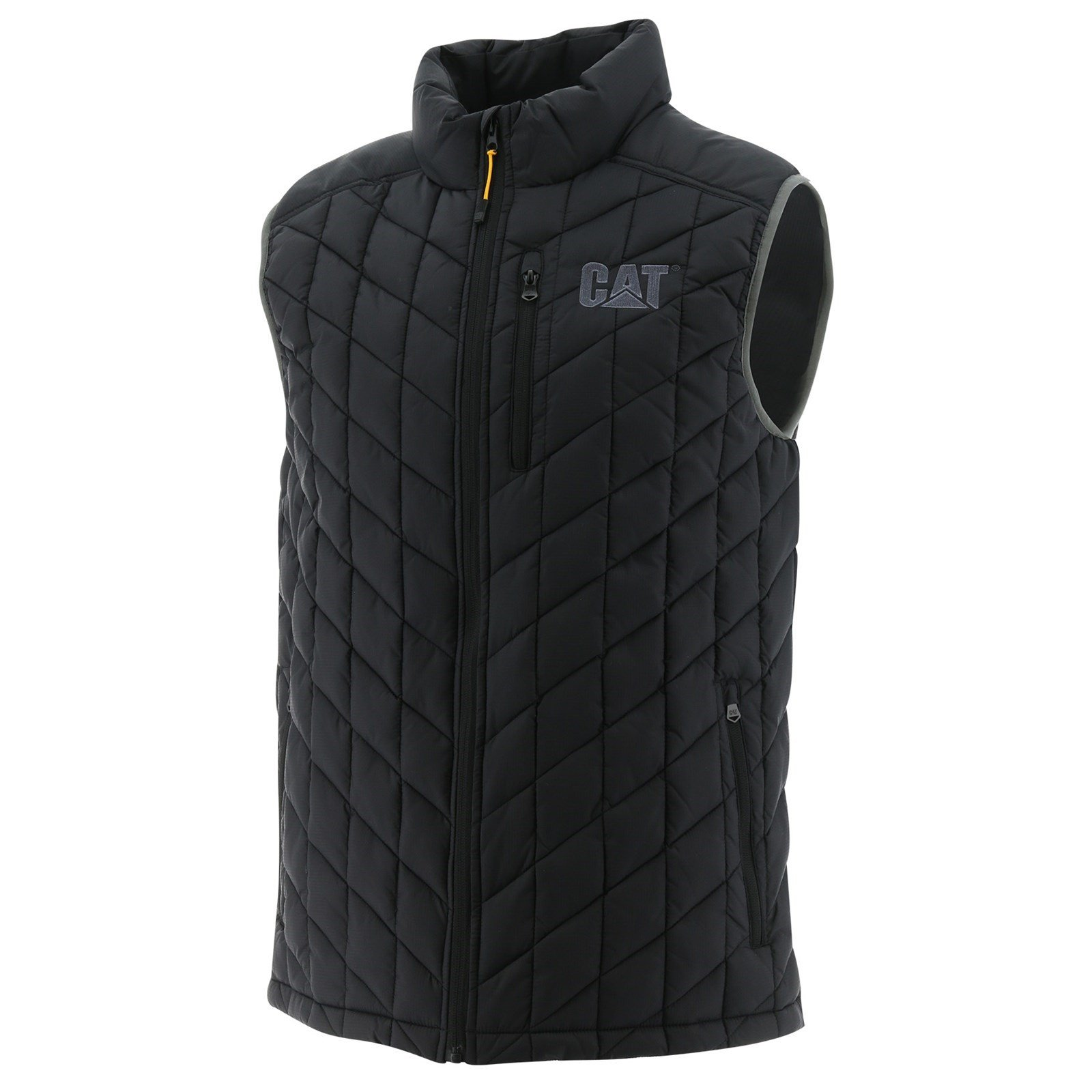 Caterpillar Unisex Insulated Jacket Various Colours 33824 - Black Charcoal Sml