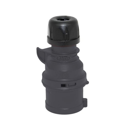 Garo P 432-5 S Pistotulppa IP44, 5-napainen, 32A Musta, 5 h