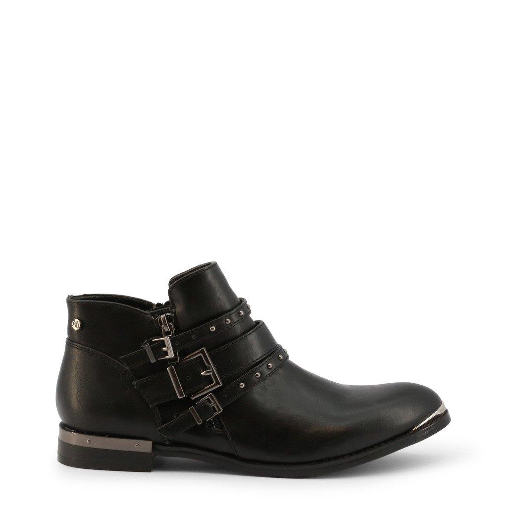 Roccobarocco Women's Ankle Boot Black RBSC0U102 - black EU 35