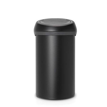 Touch Bin Moonlight Black 60 liter uten innerbøtte