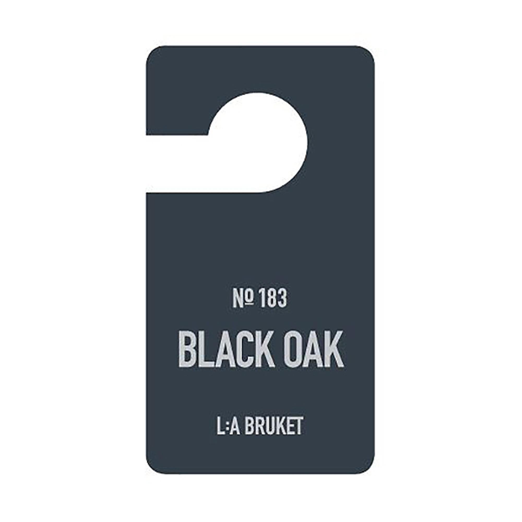 L:a Bruket Fragrance Tag Black Oak