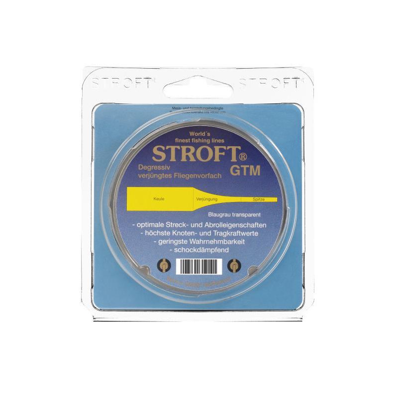 Stroft Flyleader - 15' 0,60mm./0,27mm. 0X