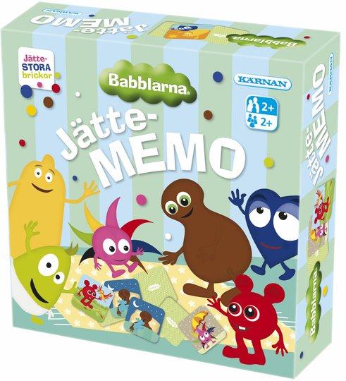 Kärnan Kjempe-Memo Babblarna