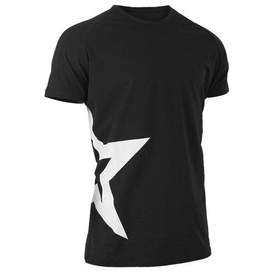 Star Nutrition Raglan T-shirt Star, Black