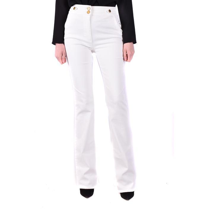 Elisabetta Franchi Women's Trouser White 230188 - white 29