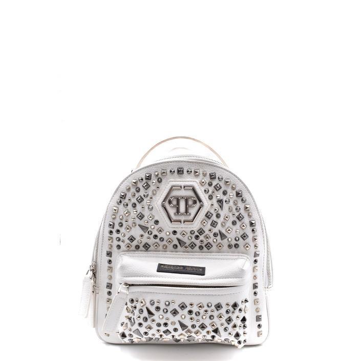 Philipp Plein Women's Backpack White 254643 - white UNICA