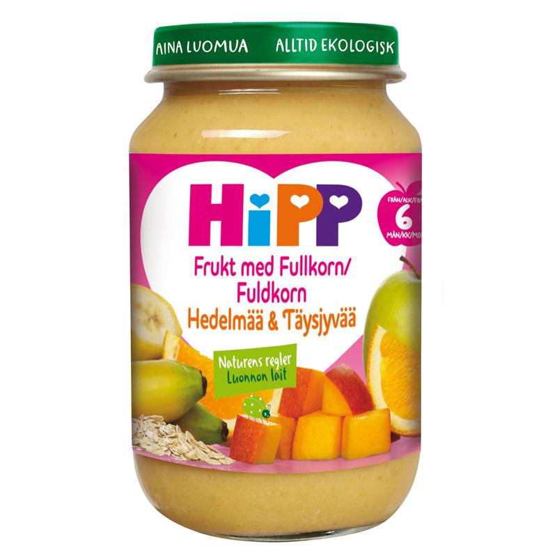 Barnmat Frukt Med Fullkorn 190g - -181% rabatt